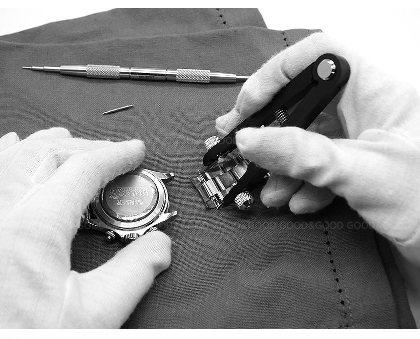 뾰족하고 내구성 강한 팁은 마모되면 양 옆 손잡이를 돌려 팁을 뒤집어 교체해서 추가 사용이 가능합니다.